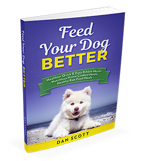 Feed Your Dog Better book by Dan Scott at HealthyDogForLife